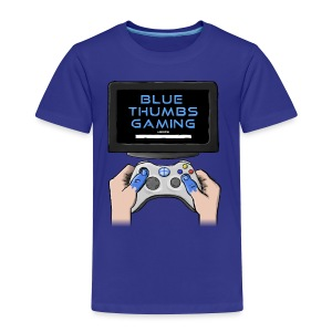 Blue Thumbs Gaming: Gamepad Logo - Toddler Premium T-Shirt