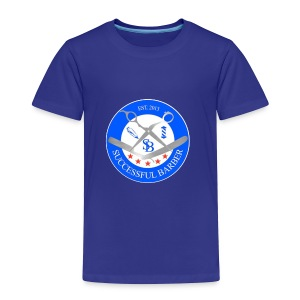 Successful Barber Seal - Toddler Premium T-Shirt