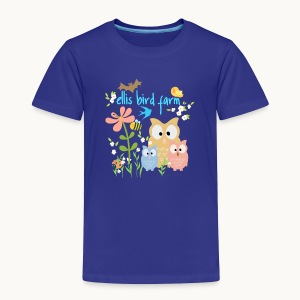 NATURE - Ellis Bird Farm - Carolyn Sandstrom - Toddler Premium T-Shirt