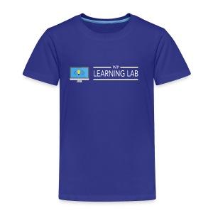 WP Learning Lab Logo - Toddler Premium T-Shirt