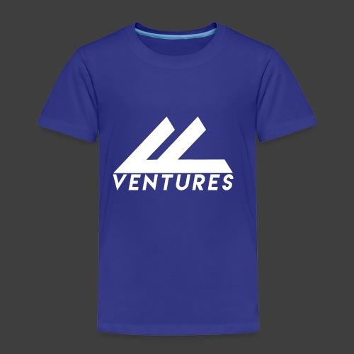 Vanity Ventures White Logo - Toddler Premium T-Shirt