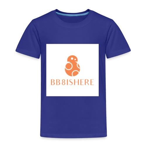 bb8ishere logo - Toddler Premium T-Shirt