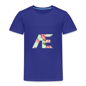 AE Floral design - Toddler Premium T-Shirt
