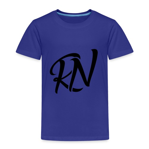 RomanNation Black (RN) - Toddler Premium T-Shirt