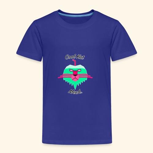 Cool Kat Mech. (Neon Glow) - Toddler Premium T-Shirt