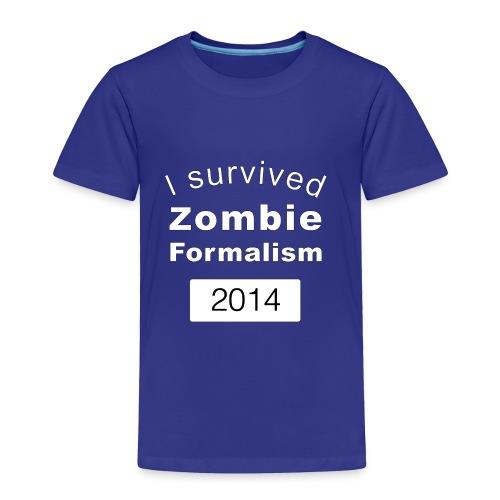 Zombie Formalism 2014 - Toddler Premium T-Shirt