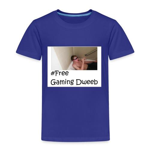 #FreeGamingDweeb - Toddler Premium T-Shirt