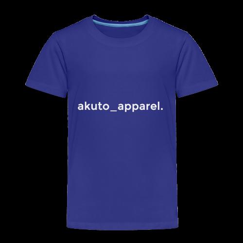 simple_text. - Toddler Premium T-Shirt