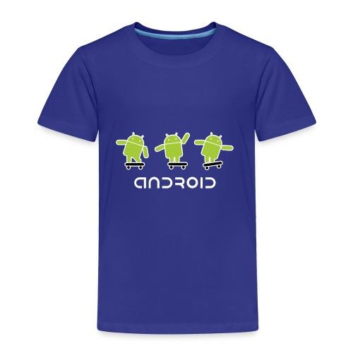 android logo T shirt - Toddler Premium T-Shirt