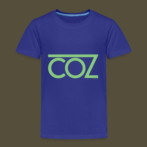 coz_logo_lightgreen - Toddler Premium T-Shirt