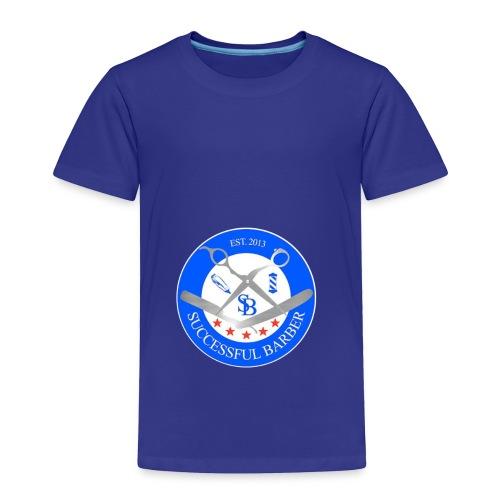 Successful Barber Seal - Toddler Premium T-Shirt
