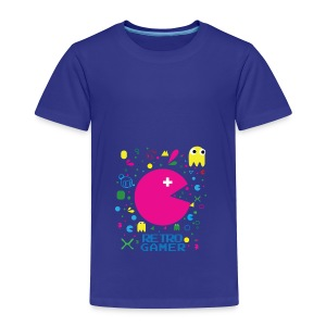 RETRO GAMER - Toddler Premium T-Shirt