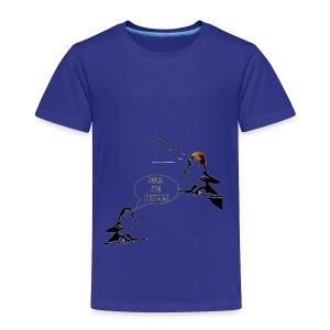 Donald Trump Tweeting T Shirt - Toddler Premium T-Shirt
