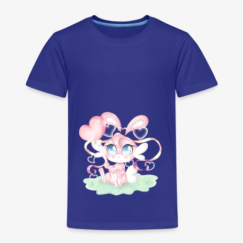 Cute lil bunny - Toddler Premium T-Shirt