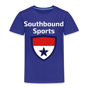 The Southbound Sports Shield Logo. - Toddler Premium T-Shirt