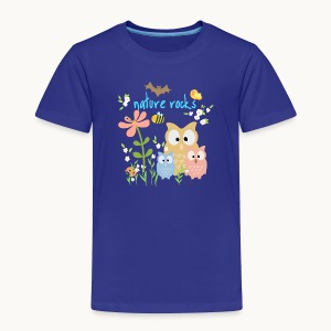 NATURE ROCKS CHILDREN Carolyn Sandstrom THR - Toddler Premium T-Shirt