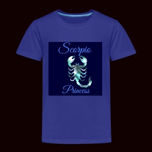 Scorpio Princess - Toddler Premium T-Shirt