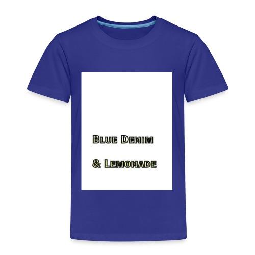 Blue Denim and Lemonade Brand - Toddler Premium T-Shirt