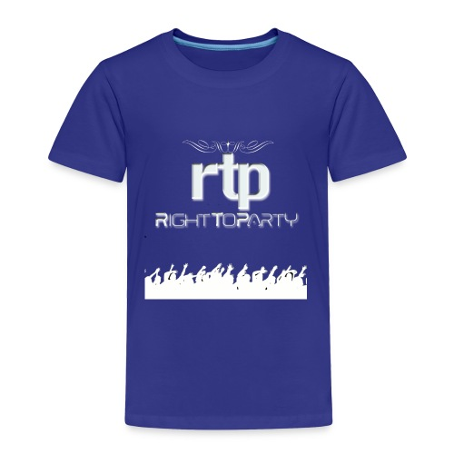 RTP Crowd LOGO White - Toddler Premium T-Shirt