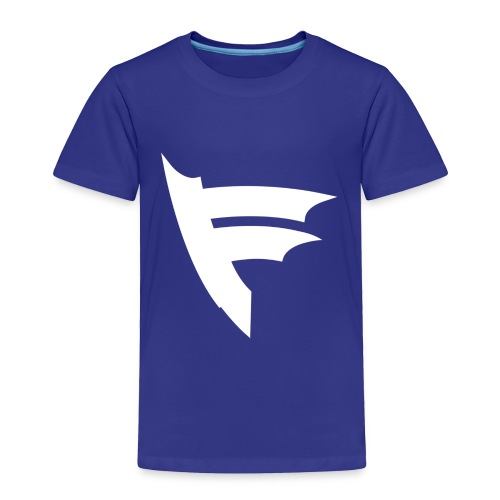 the f white - Toddler Premium T-Shirt