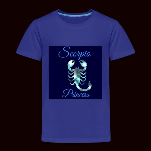 Scorpio Princess - Toddler Premium T-Shirt