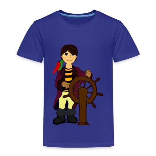 Alex the Great - Pirate - Toddler Premium T-Shirt