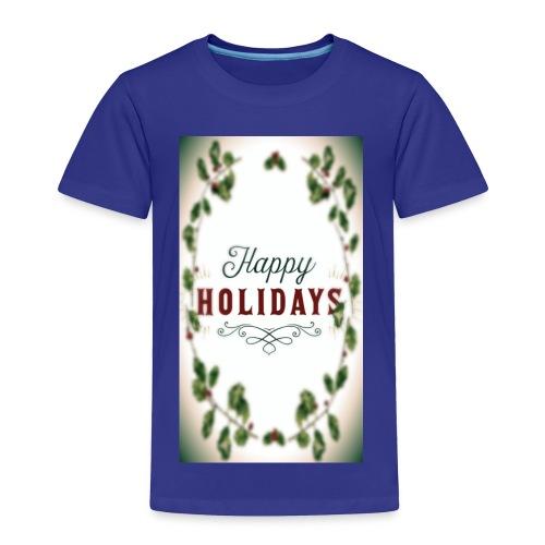 Happy holidays - Toddler Premium T-Shirt