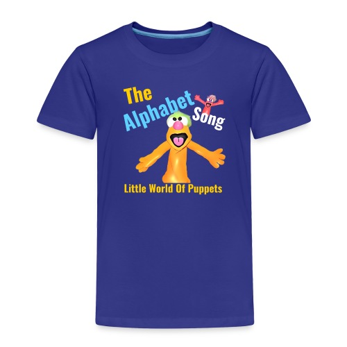 The Alphabet Song - Toddler Premium T-Shirt