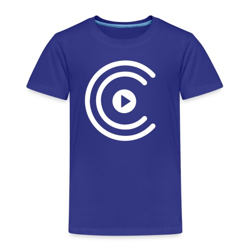 CreatiCrew Logo (White) - Toddler Premium T-Shirt