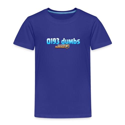 0193 dumbs Offical Shirt - Toddler Premium T-Shirt