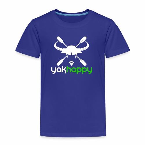 Yakhappy Logo Light - Toddler Premium T-Shirt
