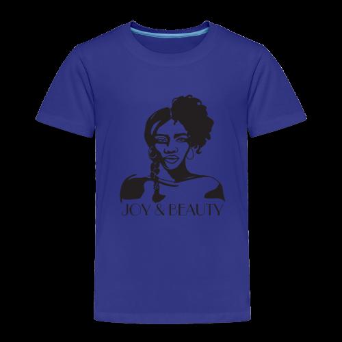 Joy and Beauty Logo - Toddler Premium T-Shirt