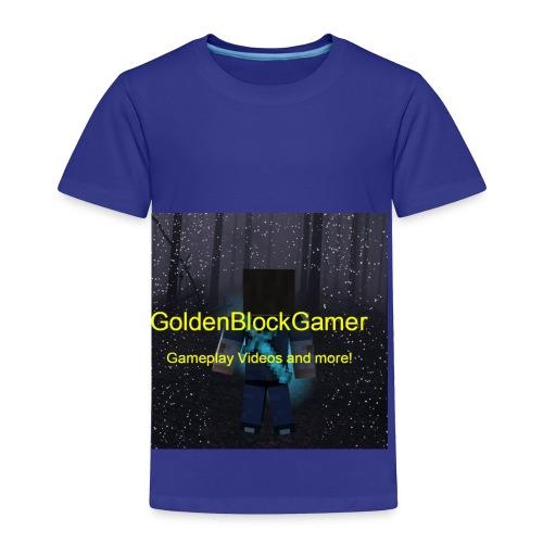 GoldenBlockGamer Tshirt - Toddler Premium T-Shirt