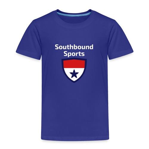 The Southbound Sports Shield Logo. - Toddler Premium T-Shirt