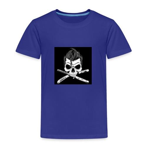 Greaser skull - Toddler Premium T-Shirt
