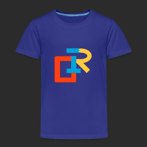 COLORED RIGANG LOGO - Toddler Premium T-Shirt
