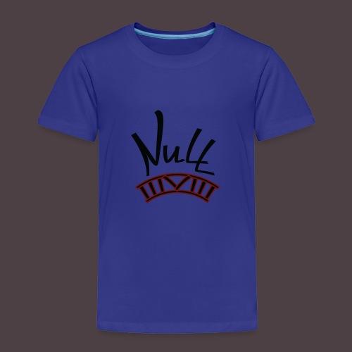 Null Logo - Toddler Premium T-Shirt