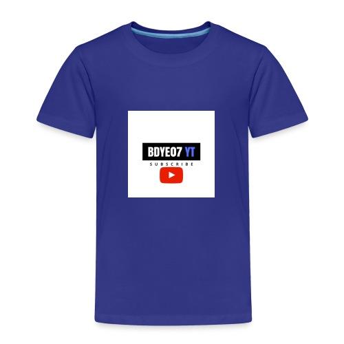 Bdye07 YT - Toddler Premium T-Shirt