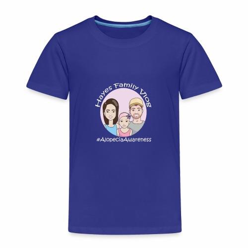Hayes Family Vlog - Toddler Premium T-Shirt