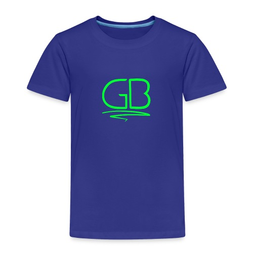 Green GB logo - Toddler Premium T-Shirt