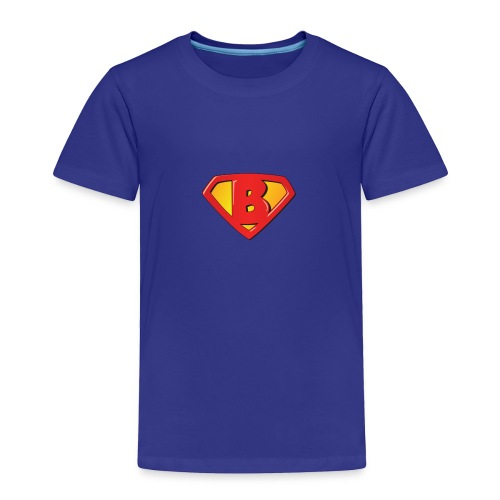 Super B letters - Toddler Premium T-Shirt