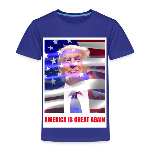 AMERICA IS GREAT AGAIN - Toddler Premium T-Shirt