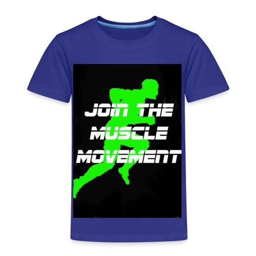 muscle movement - Toddler Premium T-Shirt