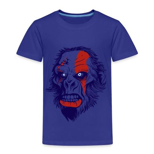 t shirt design 26 gorilla kratos by marekpl d - Toddler Premium T-Shirt