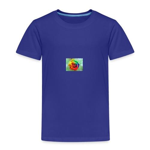 rainbow flower - Toddler Premium T-Shirt