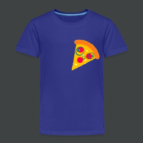 Cartoony Pizza Logo - Toddler Premium T-Shirt
