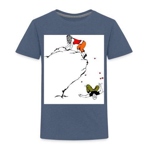 Lady Climber - Toddler Premium T-Shirt