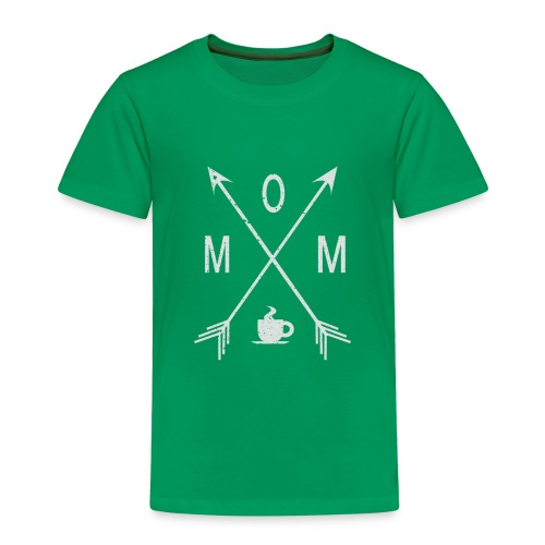 Mom Loves Coffee - Toddler Premium T-Shirt