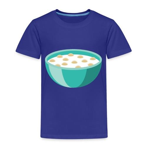 Bowl of Cereal - Toddler Premium T-Shirt