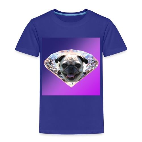 Diamond Pug - Toddler Premium T-Shirt